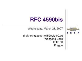 RFC 4590bis