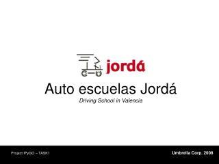Auto escuelas Jordá Driving School in Valencia