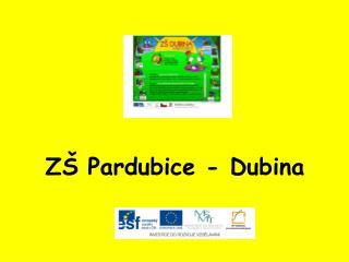 ZŠ Pardubice - Dubina