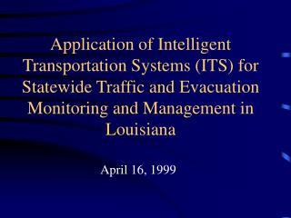 April 16, 1999