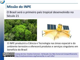 Missão do INPE