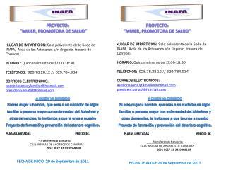 - Transferencia bancaria:        CAJA INSULAR DE AHORROS DE CANARIAS