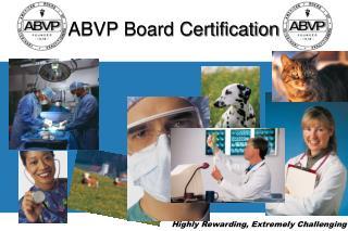 ABVP Board Certification