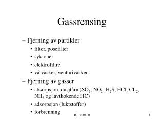 Gassrensing
