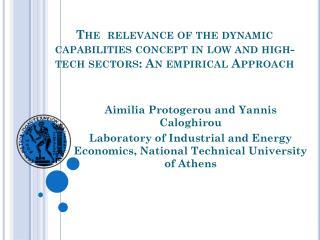 Aimilia Protogerou and Yannis Caloghirou