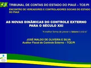 TRIBUNAL DE CONTAS DO ESTADO DO PIAUÍ – TCE/PI