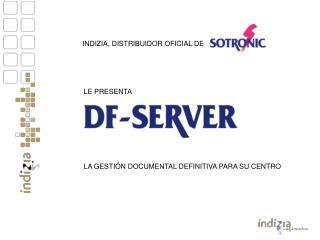 INDIZIA, DISTRIBUIDOR OFICIAL DE