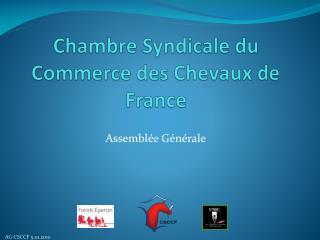Chambre Syndicale du Commerce des Chevaux de France