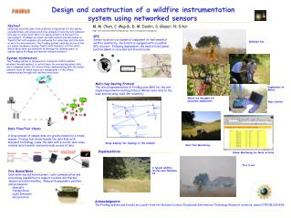 Design and construction of a wildfire instrumentation                 system using networked sensors