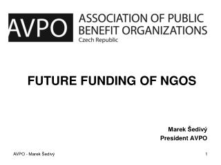 Future Funding of NGOs
