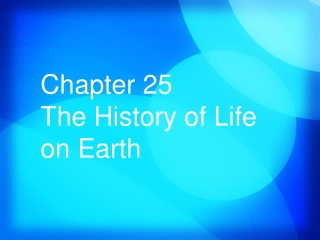 Chapter 21 Adaptation  Speciation