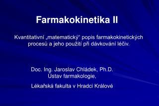 Farmakokinetika II