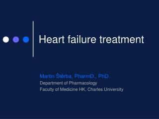 Heart failure treatment