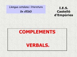 Llengua catalana i literatura 2n d'ESO