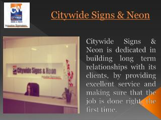 Corporate Signage Manufacturers & Installers in Melbourne