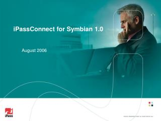 iPassConnect for Symbian 1.0