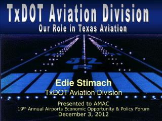 TxDOT Aviation Division