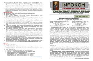 Edisi :  XLVI/ 24 Feb 2013