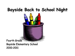 Bayside Back to School Night
