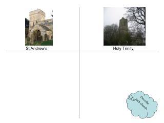 Describe each church