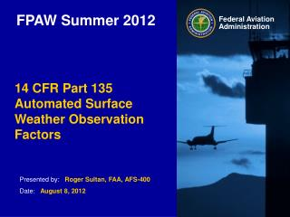 FPAW Summer 2012