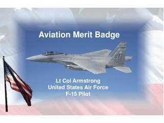 Lt Col Armstrong United States Air Force F-15 Pilot