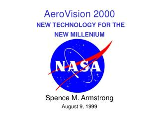 AeroVision 2000 NEW TECHNOLOGY FOR THE  NEW MILLENIUM