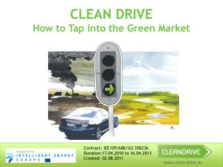 CLEAN DRIVE  How to Tap into the Green Market
