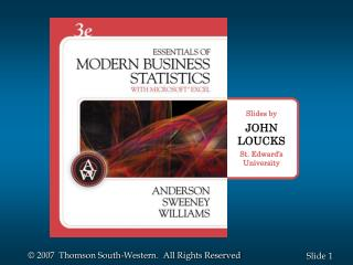 Chapter 2 Descriptive Statistics: Tabular and Graphical Presentations Part B