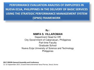 Performance Management for Better Service Delivery in Local Government