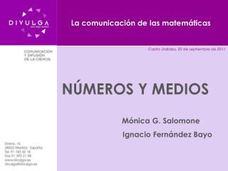 La comunicación de las matemáticas