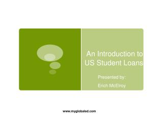 An Introduction to US Student Loans