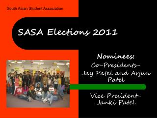 SASA Elections 2011