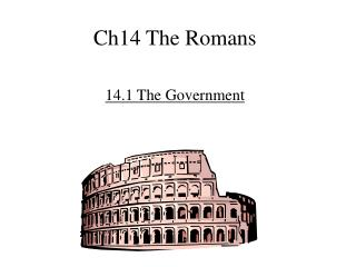 Ch14 The Romans