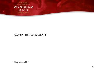 ADVERTISING TOOLKIT