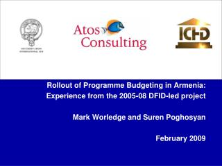 Rollout of Programme Budgeting in Armenia: Experience from the 2005-08 DFID-led project