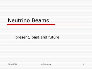 Neutrino Beams