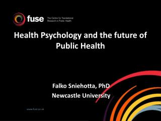 Health Psychology and the future of  Public Health