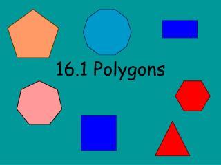 16.1 Polygons