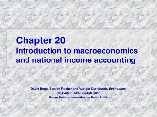 Chapter 20 Introduction to macroeconomics and national income accounting