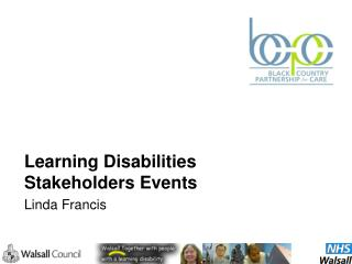Learning Disabilities Stakeholders Events Linda Francis