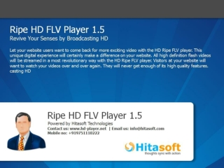 Hitasoft Ripe HD Flv Player