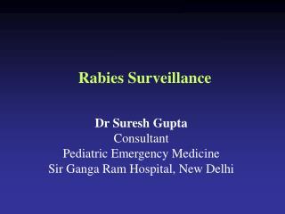 Rabies Surveillance
