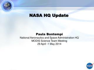 NASA HQ Update