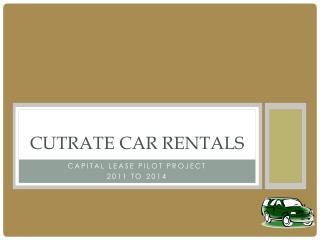 CutRate  Car Rentals