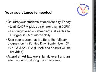 Your assistance is needed: