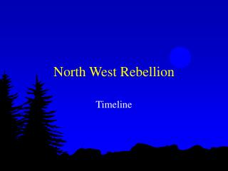 North West Rebellion