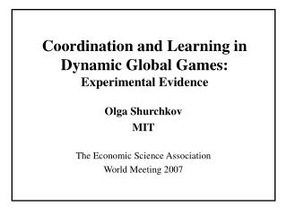 Coordination and Learning in Dynamic Global Games: Experimental Evidence