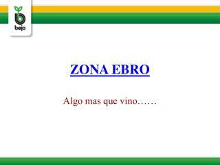 ZONA EBRO