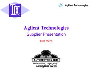 Supplier Presentation
